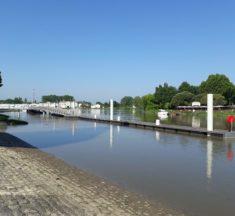 Un nouveau ponton à Libourne