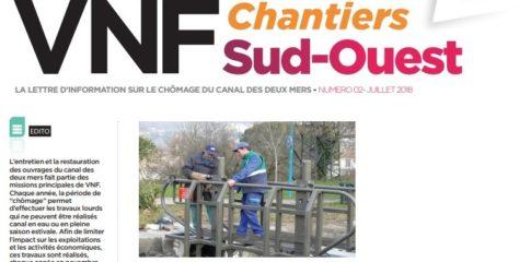 La lettre d'information sur le chômage du canal des deux mers – N°2 – juillet 2018