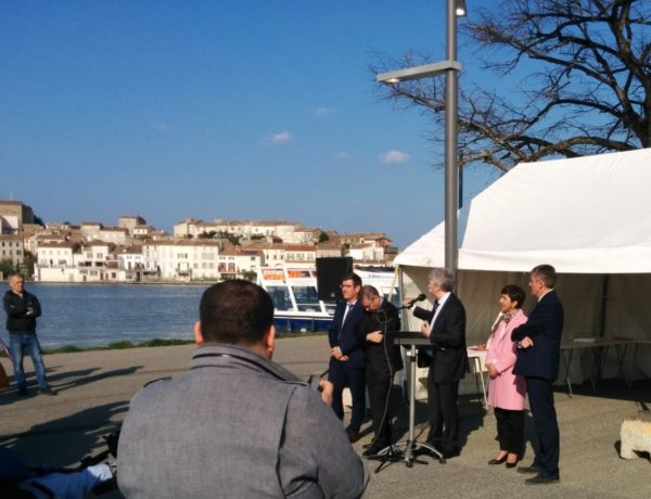 Lancement officiel de la réouverture du Canal du Midi à Castelnaudary
