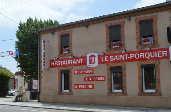 restaurant le Saint-Porquier